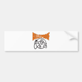 Bulletproof Logo Bumper Sticker