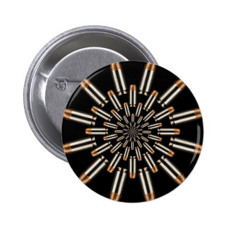 Bullets 6 Cm Round Badge