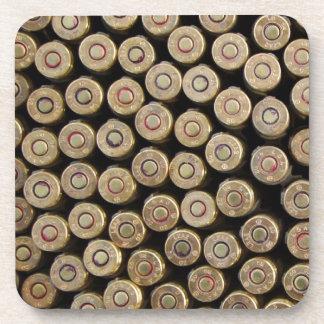 Bullets, ammunition coaster