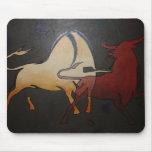 Bullfight 1 mousepad