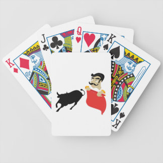 Bullfighter Bicycle Playing Cards
