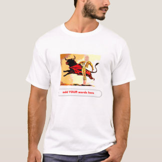 Bullfighter Carnival Cutout T-Shirt