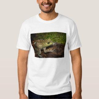 Bullfrog, Rana catesbeiana Tee Shirts