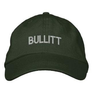 bullitt in green embroidered hat