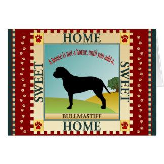Bullmastiff Card