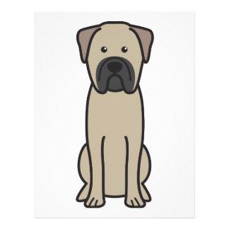 Bullmastiff Dog Cartoon 21.5 Cm X 28 Cm Flyer