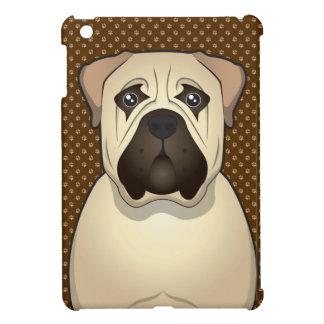 Bullmastiff Dog Cartoon Paws iPad Mini Cover