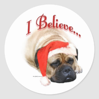 Bullmastiff I Believe - Sticker