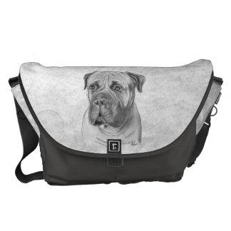 Bullmastiff Messenger Bag
