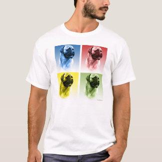 Bullmastiff Pop Art T-Shirt