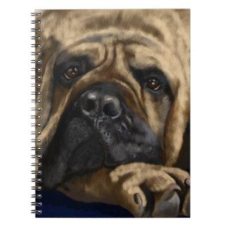 Bullmastiff Spiral Notebook