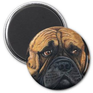 Bullmastiff Waiting - Dog Breed Art Magnet