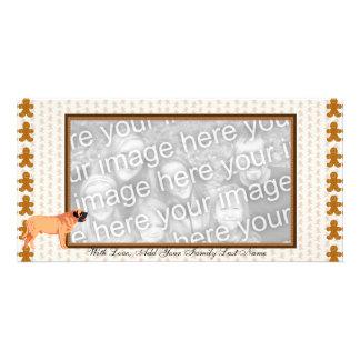 Bullmastiff's are Awesome Customized Photo Card