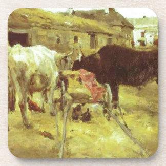 Bullocks by Valentin Serov Drink Coaster