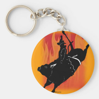 Bullrider  101 key ring