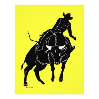 Bullrider 300 21.5 cm x 28 cm flyer