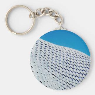 Bullring Basic Round Button Key Ring