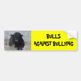 Bulls Against Bullying #7 of 14 Different Bumper Sticker