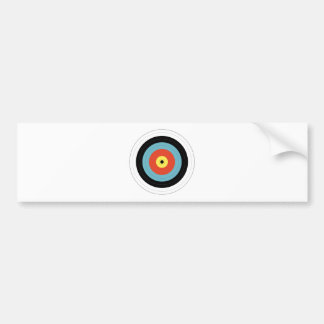 Bulls Eye Bumper Sticker