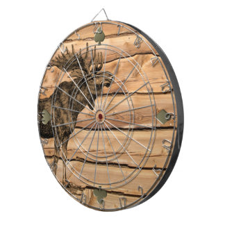 Bull's-eye Dart Board - regulation size