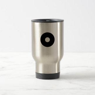 Bull's eye coffee mug