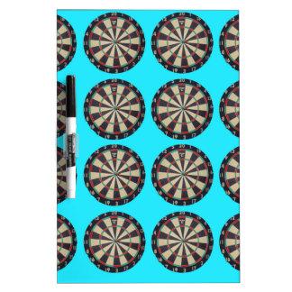 Bulls_Eye_On_Aqua,_ Dry-Erase Board