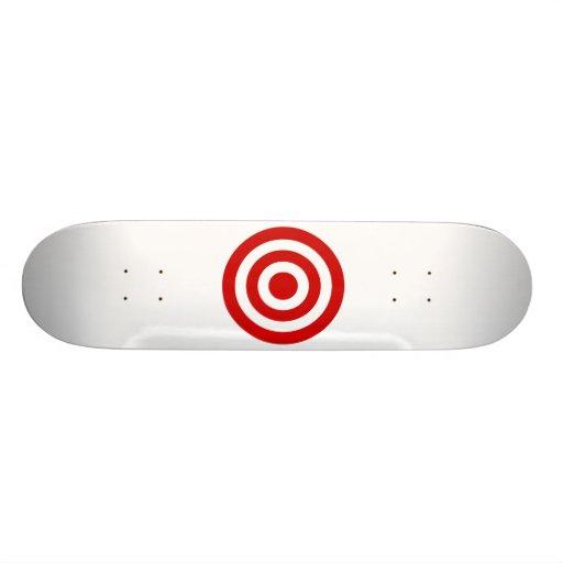 Bull's_Eye Custom Skateboard