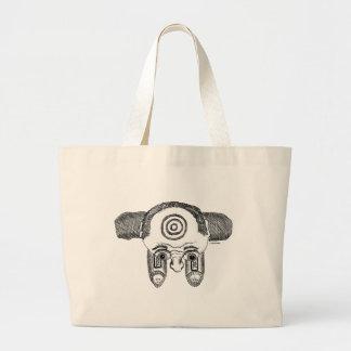 """""""Bulls Eye"""" Jumbo Tote Bag"""