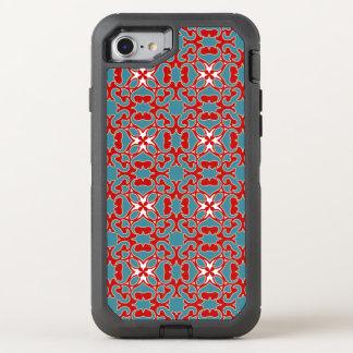 Bull's horn pattern OtterBox defender iPhone 8/7 case