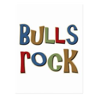 Bulls Rock Postcard
