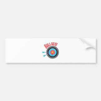 Bullseye Bumper Sticker