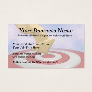 Bullseye! Business Card