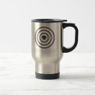 bullseye gun control travel mug