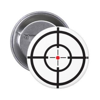 Bullseye Pinback Buttons
