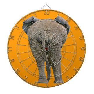 Bullseye the Bull Elephant's Butt! Dartboard