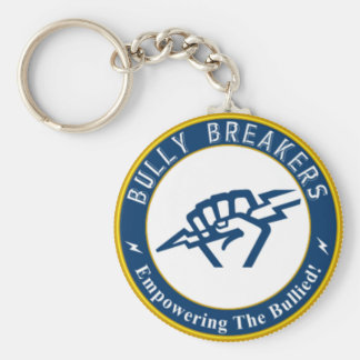 Bully Breaker Official Merchandise Basic Round Button Key Ring