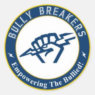 Bully Breaker Official Merchandise Round Sticker