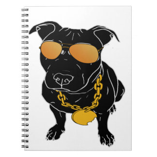 Bully breed design notebook