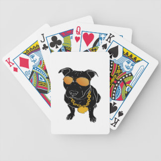Bully breed design poker deck