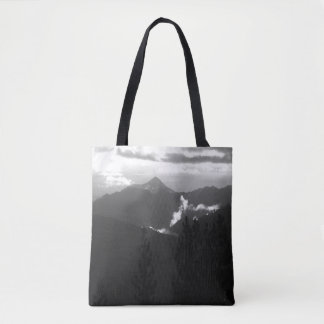 Bully Choop on a dark morning... Tote Bag