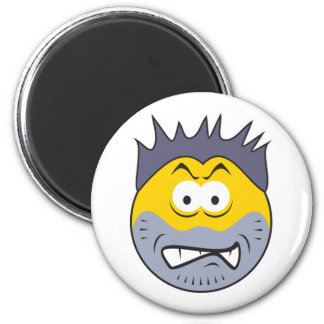 Bully Dirt BagSmiley Face Magnet