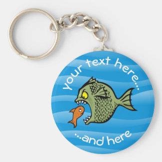 Bully Fish Key Ring
