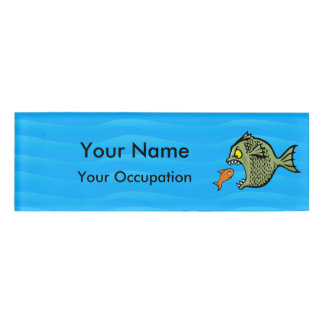 Bully Fish Name Tag