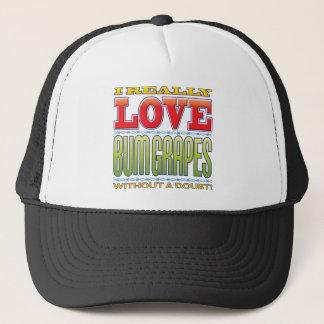 Bum Grapes Love Trucker Hat