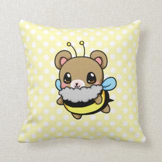 Bumble Bear Throw Pillow