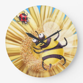 BUMBLE BEE AND LADY BIRD... CLOCKS