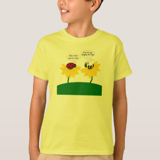 Bumble Bee and Ladybug Cute Shirt for Kids