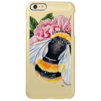 Bumble Bee And Peony