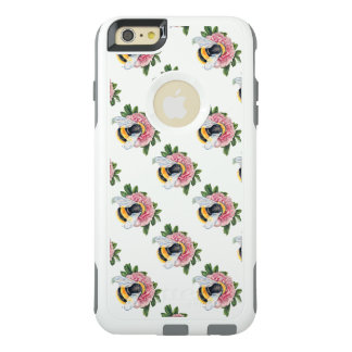 Bumble Bee And Peony OtterBox iPhone 6/6s Plus Case