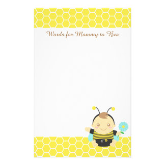 Bumble Bee Baby, For Mommy to Be Stationery